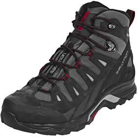Salomon Quest Prime GTX Hiking Shoes Men Magnet/Black/Red Dahia